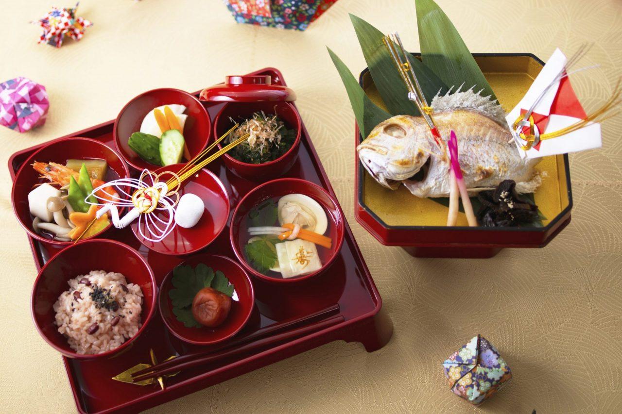 日本料理『介寿荘』のお食い初め・七五三プラン
