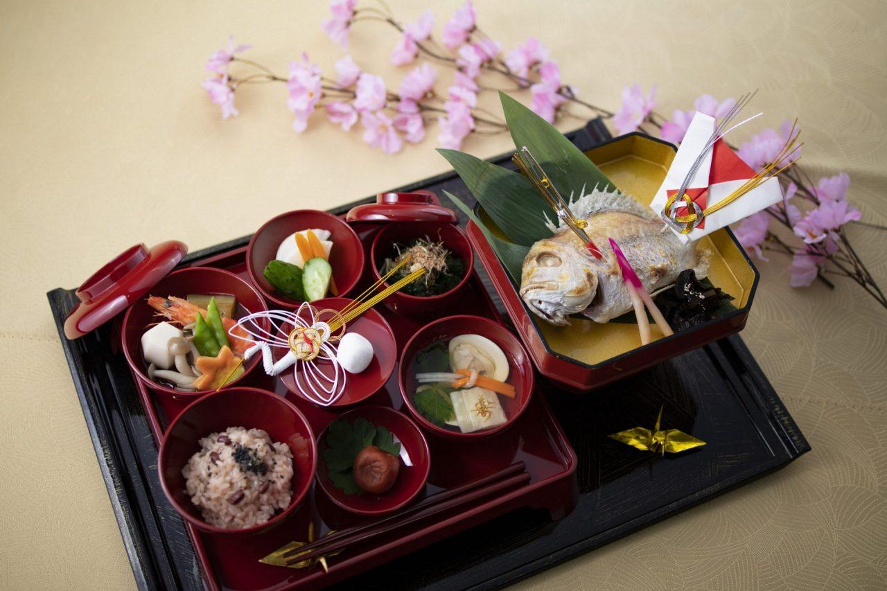日本料理 介寿荘のお食い初め・七五三プラン