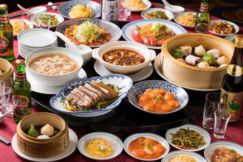 中国料理 豪華のオーダーバイキング