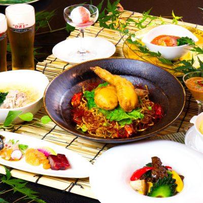 7・8月おすすめディナーコース「スパイス香る夏野菜コース」