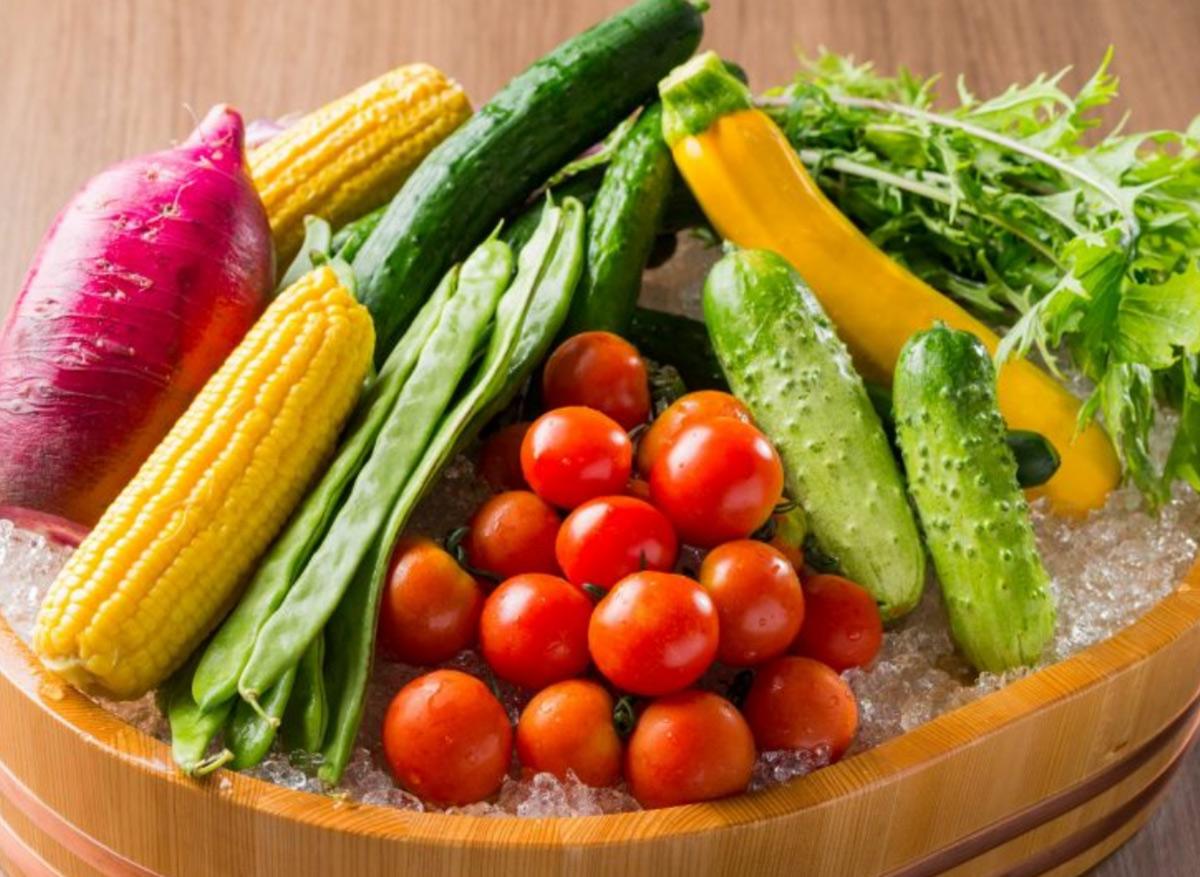 県内各地の新鮮な採れたて野菜
