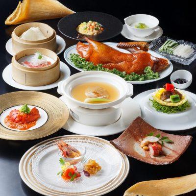 1・2月おすすめディナーコース「フカヒレの姿煮コース」