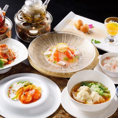 1・2月おすすめランチコース「ワンタン麺ランチコース」
