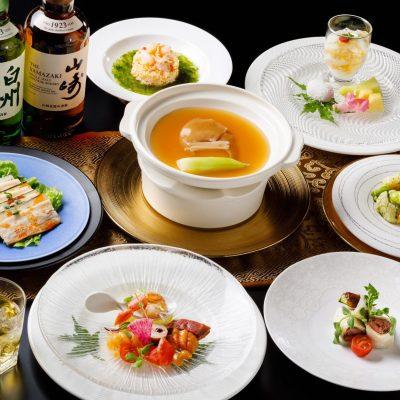 5・6月おすすめディナーコース「フカヒレの姿煮コース」