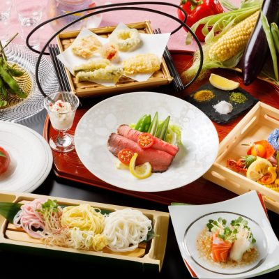 7・8月おすすめディナー「夏を楽しむ酒菜コース」
