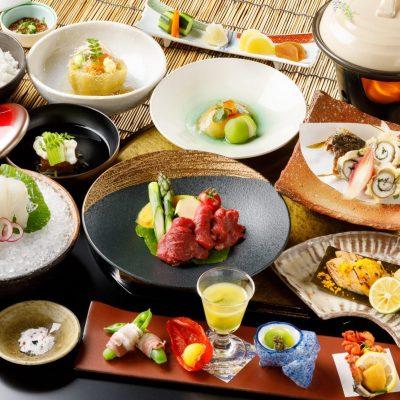 7・8月おすすめディナー「岩手前沢牛と丸茄子吉野煮コース」