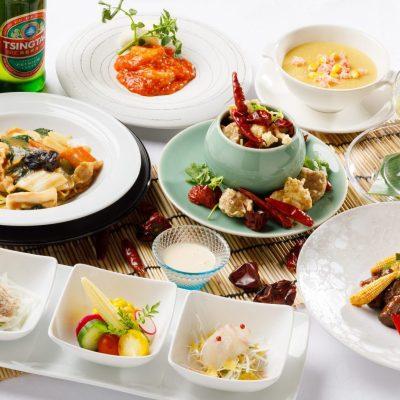 7・8月おすすめディナーコース「王道中国料理と旬野菜コース」