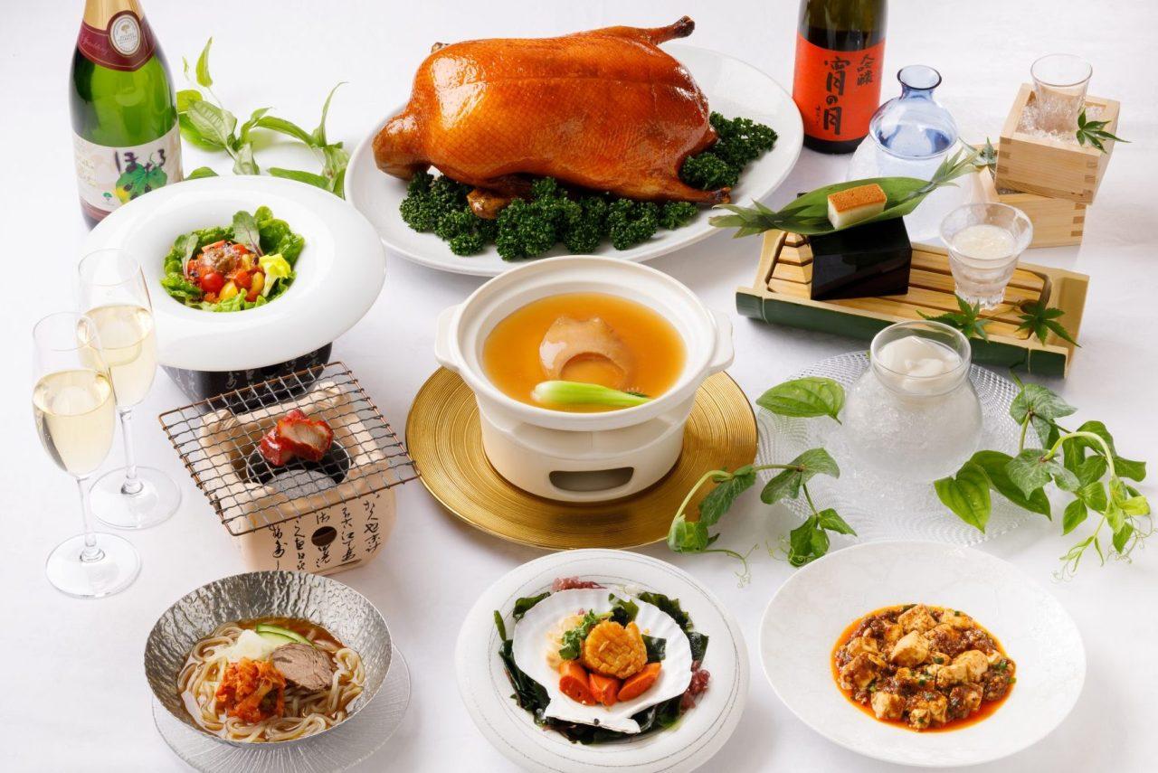 7・8月おすすめディナーコース「フカヒレの姿煮コース」