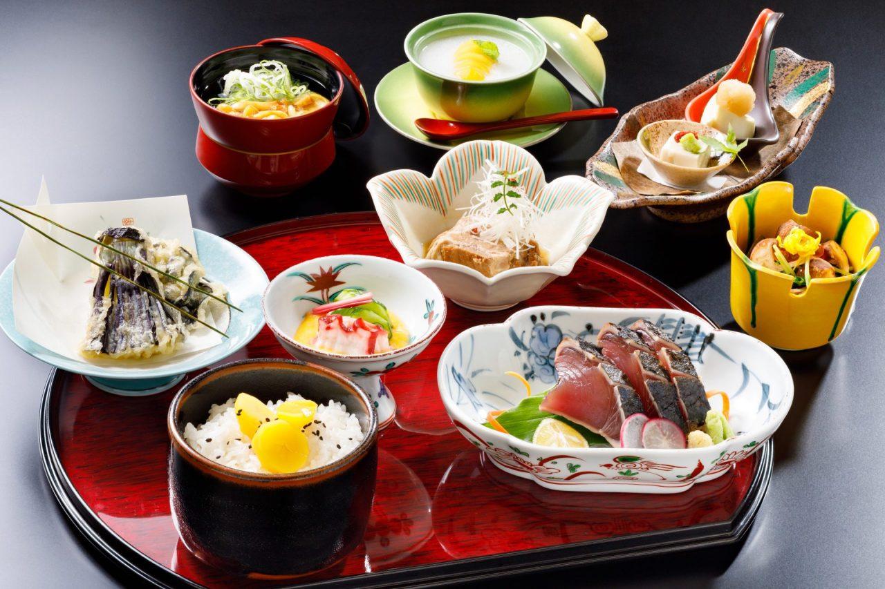 9月おすすめランチ「走り松茸と戻り鰹の味覚御膳」