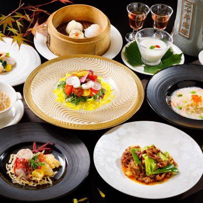 9・10月おすすめディナーコース「回鍋肉と秋野菜コース」