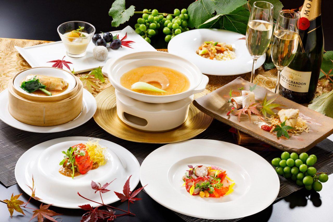 9・10月おすすめディナーコース「フカヒレの姿煮コース」