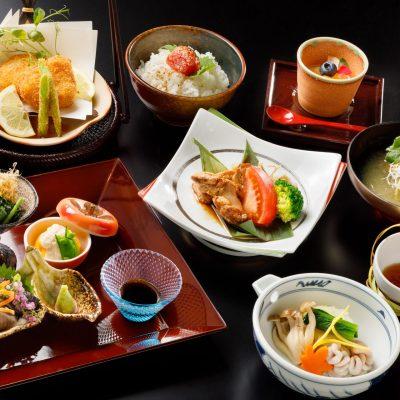 11月おすすめランチ「旬の真鱈と香りで楽しむ御膳」