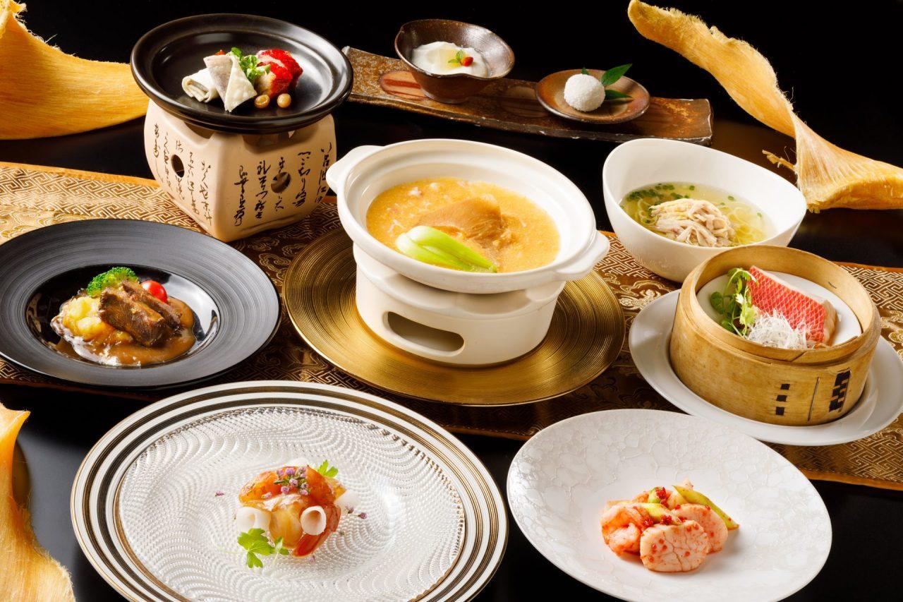11・12月おすすめディナーコース「フカヒレの姿煮コース」